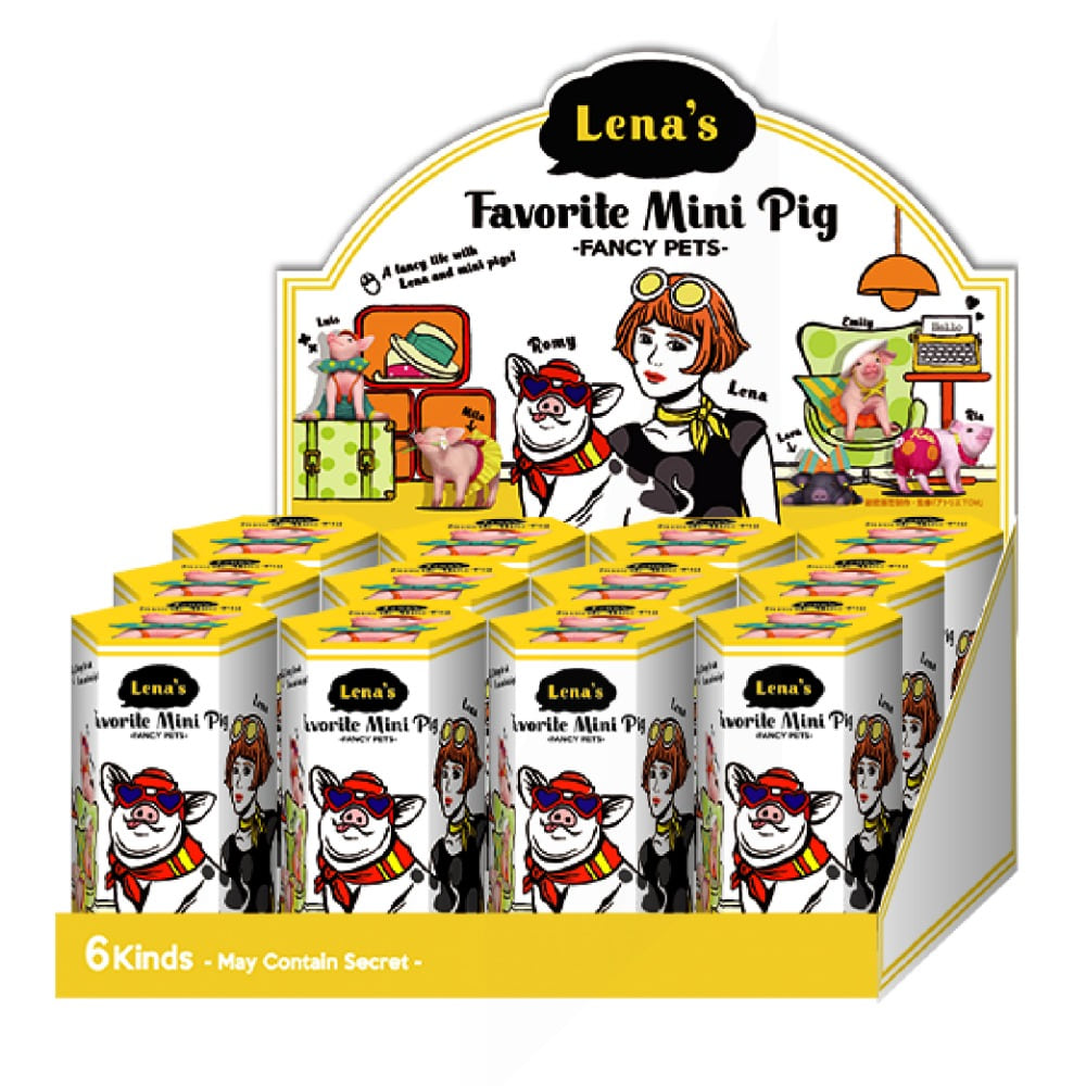 Lena's Favorite Mini Pig - FANCY PETS- (박스)